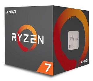 AMD Ryzen 7 2700X 8コア16スレッド (YD270XBGAFBOX)