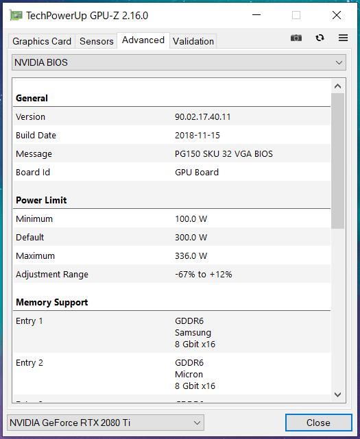 ZOTAC GAMING GeForce RTX 2080 Ti AMP Extreme_GPU-Z (3)