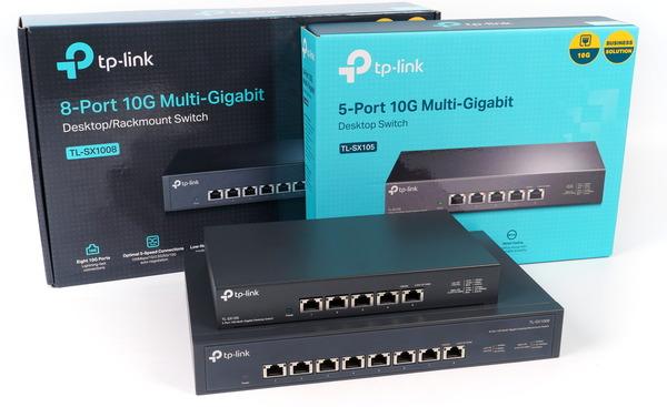 TP-Link TL-SX105 and TL-SX1008