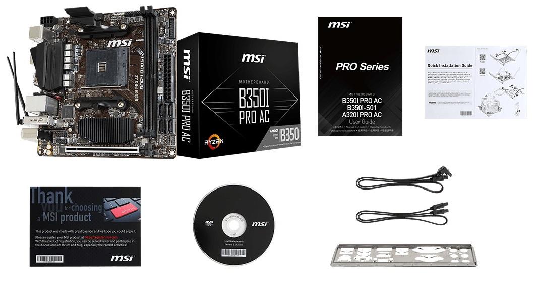 msi b350m gaming pro manual pdf