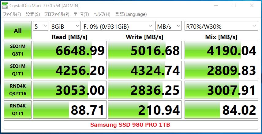 Samsung SSD 980 PRO 1TB_CDM7_PCIE