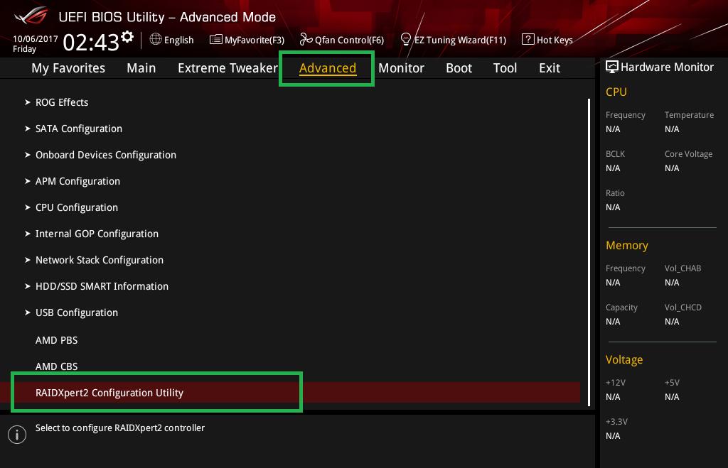 Threadripper NVMe RAID アレイ構築_5