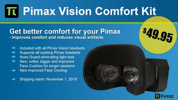 Pimax Vision Confort Kit