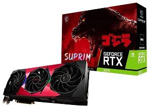 MSI GeForce RTX 3070 SUPRIM SE GODZILLA