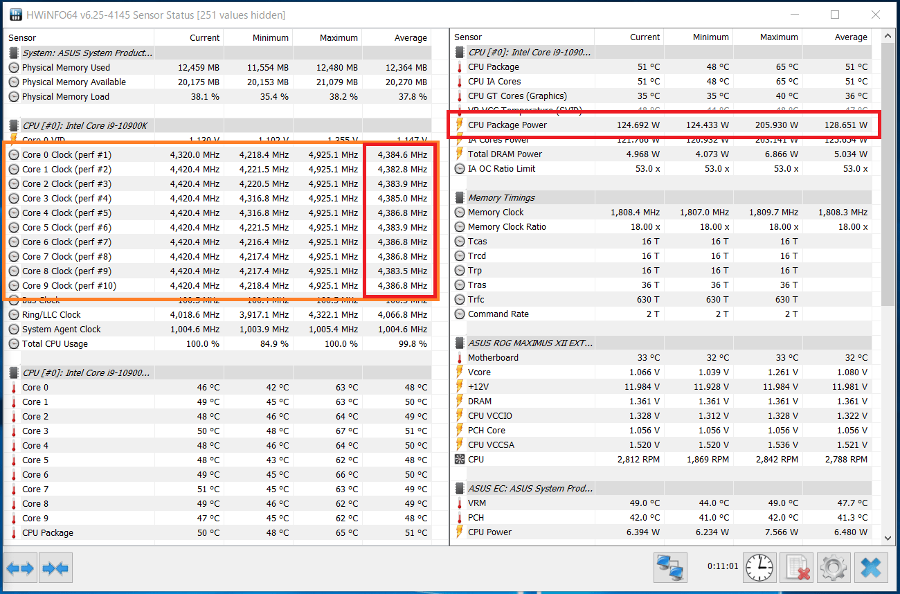 Intel Core i9 10900K_Boost-Clock_multi_PL1