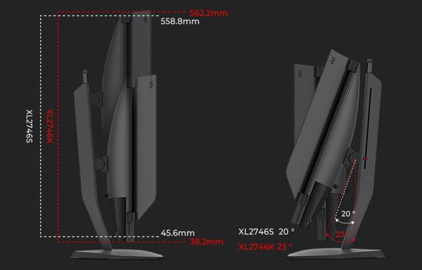 ZOWIE XL2746K_adjustment