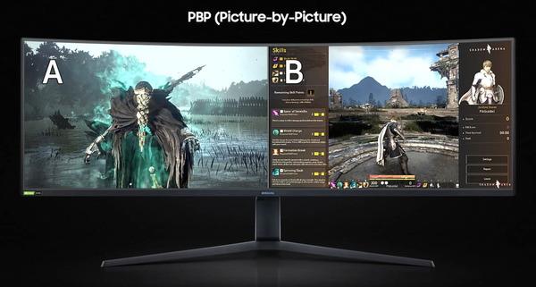 Samsung Odyssey G9_PBP