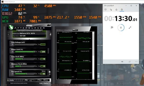 ZOTAC GAMING GeForce RTX 3070 Twin Edge_stress_1500RPM