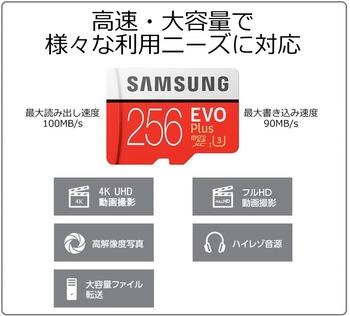 Samsung microSDXC EVO Plus 256GB (1)