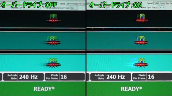 ゲーミングモニタの選び方[1] 応答速度とオーバードライブについて