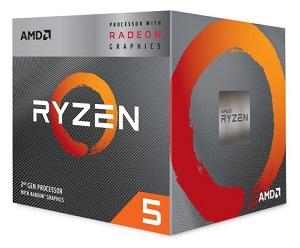 AMD Ryzen 5 3400G 4コア8スレッド