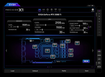 EVGA Precision X1_Fan control_1