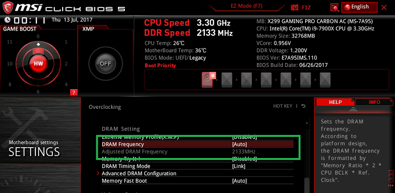 MSI X299 GAMING PRO CARBON AC_BIOS_OC_19