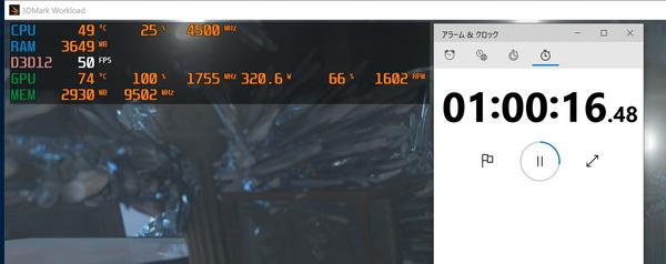 ZOTAC GAMING GeForce RTX 3080 Trinity_stress