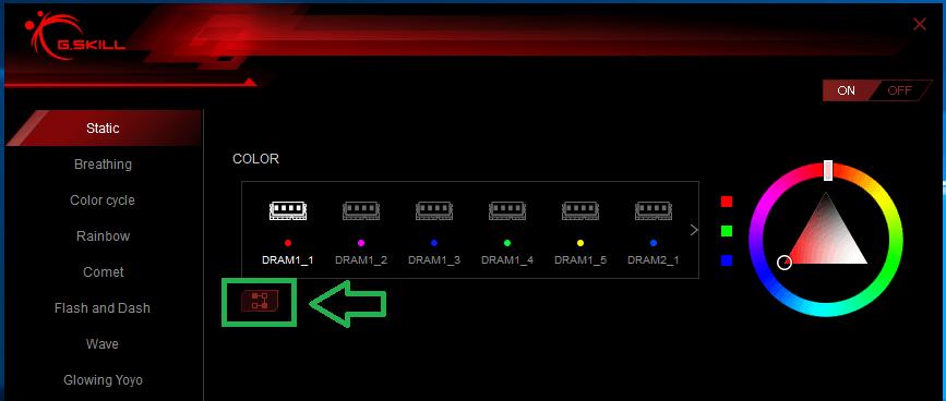 Trident Z RGB Control_Static