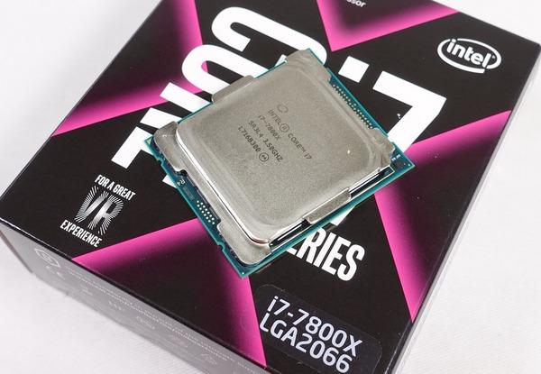 6コア12スレッド「Core i7 7800X」をレビュー