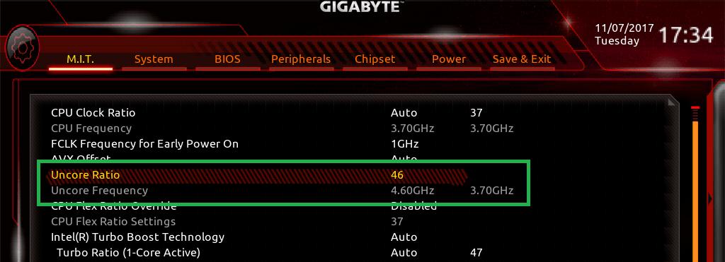 GIGABYTE Z370 AORUS Gaming 7_BIOS_OC_5
