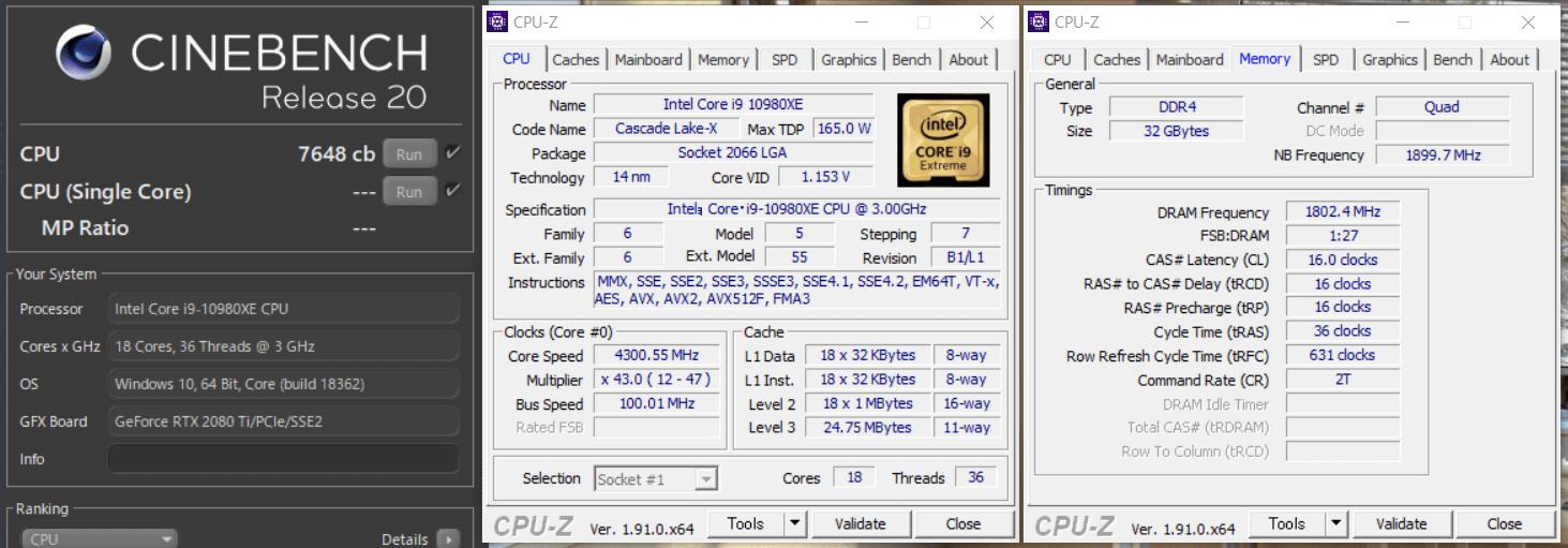Intel Core i9 10980XE_cinebench-R20