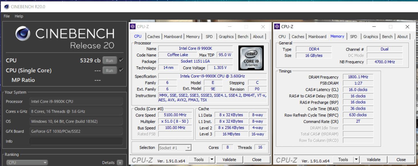 Core i9 9900K_OC_cinebench r20