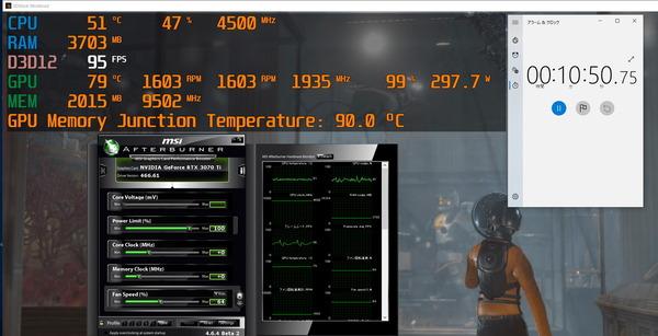 ZOTAC GAMING GeForce RTX 3070 Ti AMP Holo_stress_manual