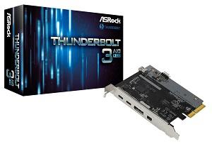 ASRock Thunderbolt 3 AIC R2.0 Thunderbolt3拡張カード