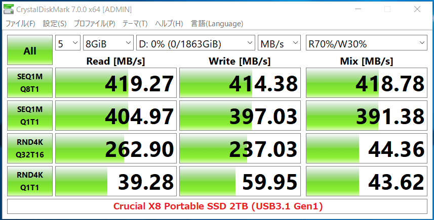 Crucial X8 Portable SSD 2TB_CDM7_USB3