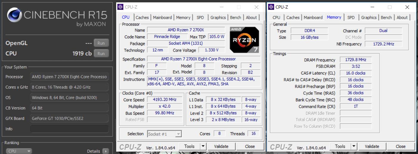 ASUS ROG STRIX X470-F GAMING_OC test_cine