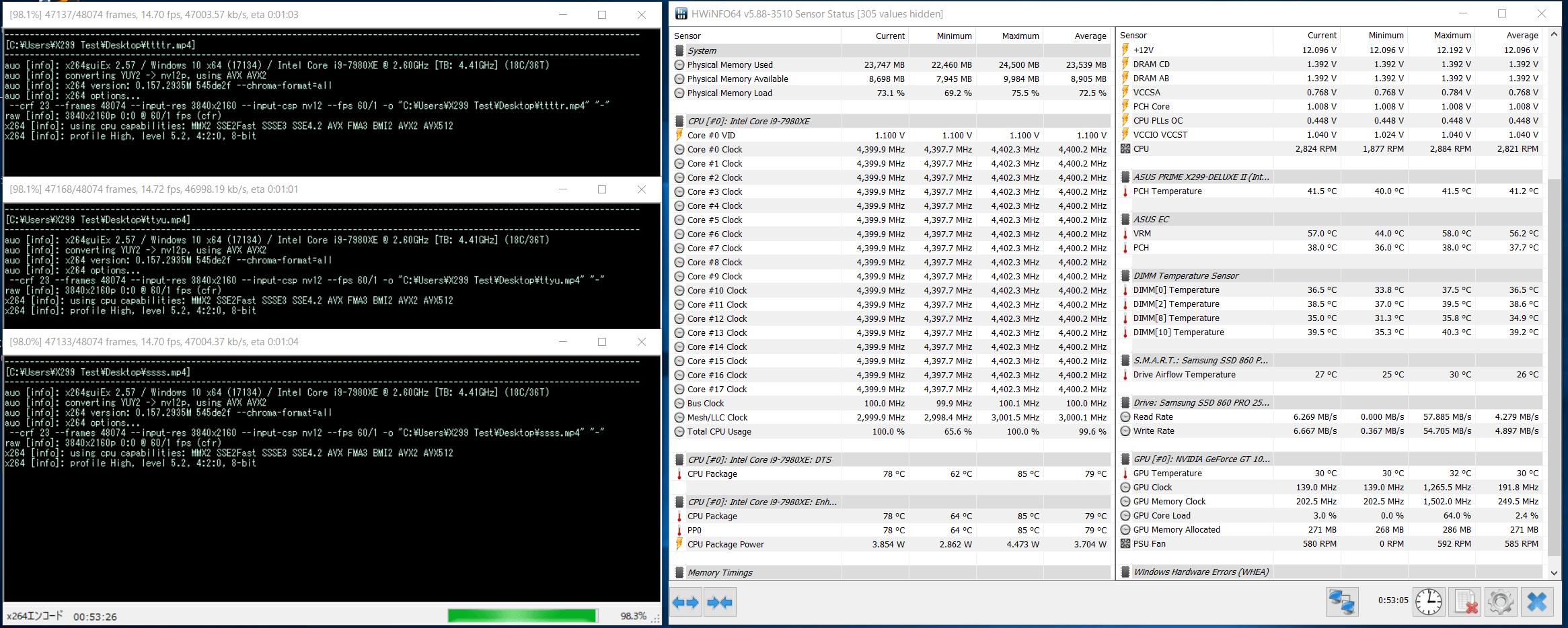 Core i9 7980XE_Test