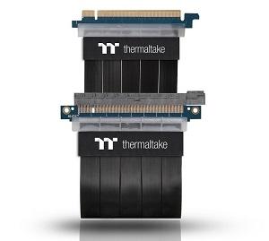 Thermaltake TT Premium PCI Express Extender Cable(300mm) ライザーケーブル CS6806 AC-045-CN1OTN-C1