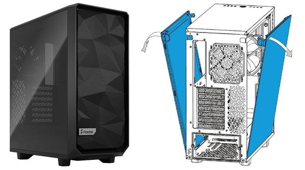 Fractal Design Meshify 2 Compact_side-panel