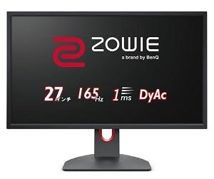 ZOWIE XL2731K (27インチ/165Hz/TN/DyAc)