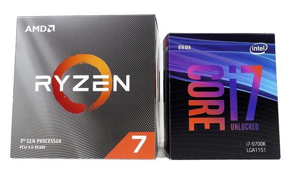 AMD Ryzen 7 3700X_vs_Intel Core i7 9700K