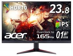 Acer VG240YSbmiipx (23.8インチ/フルHD/IPS/165Hz/FreeSync)