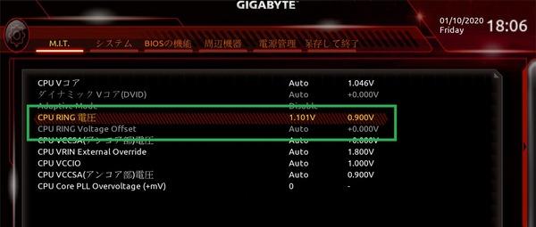 GIGABYTE C621 AORUS XTREME_BIOS_OC_11