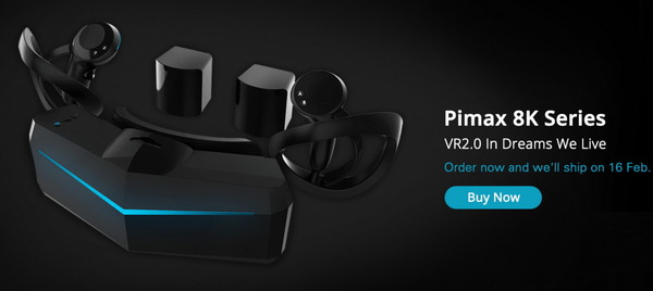 Pimax 5K Plus VR Headset_top