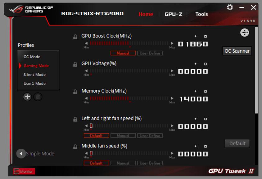 ASUS GPU Tweak II (5)