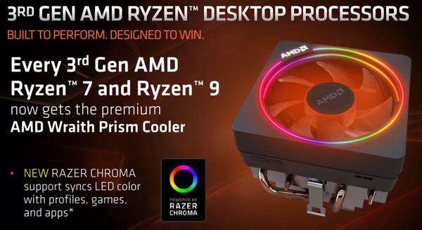 AMD Ryzen 3rd Wraith Prism