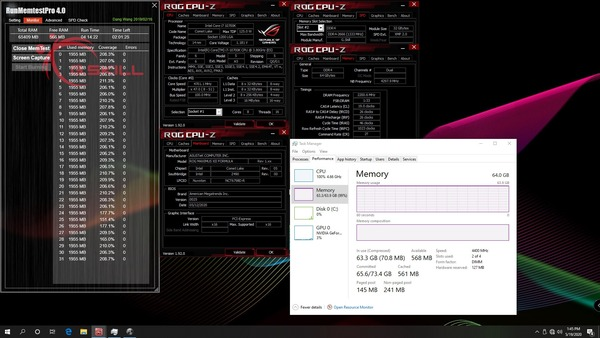 G.Skill Trident Z For Intel Core 10th_4400MHz_C19_64D32