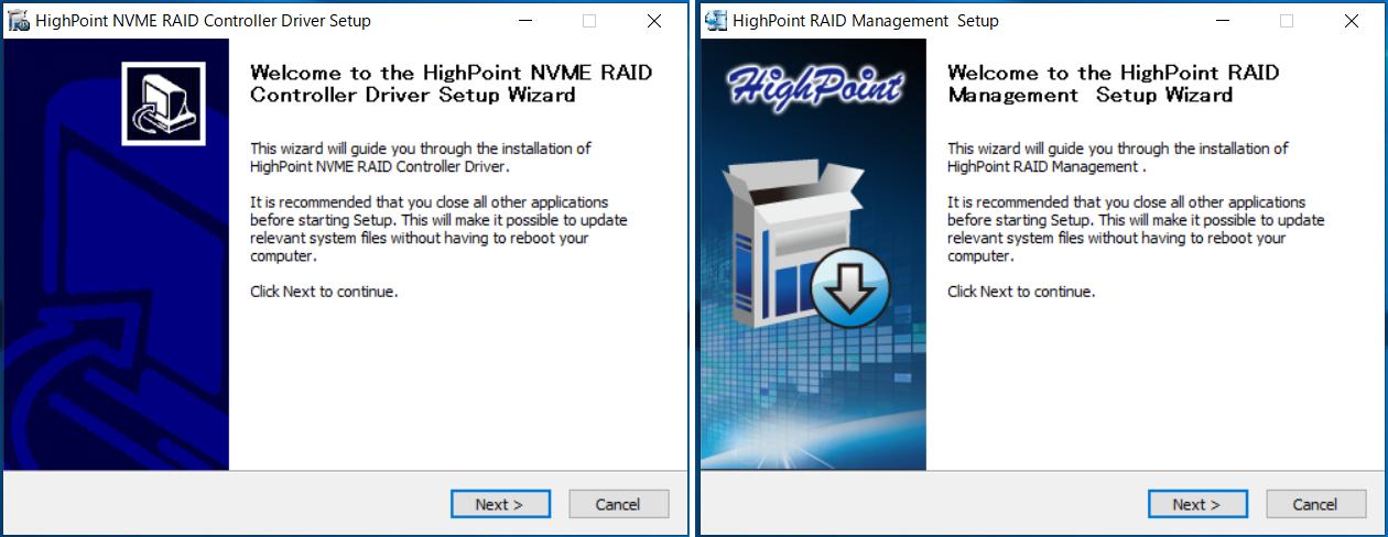 HighPoint SSD7505_setup