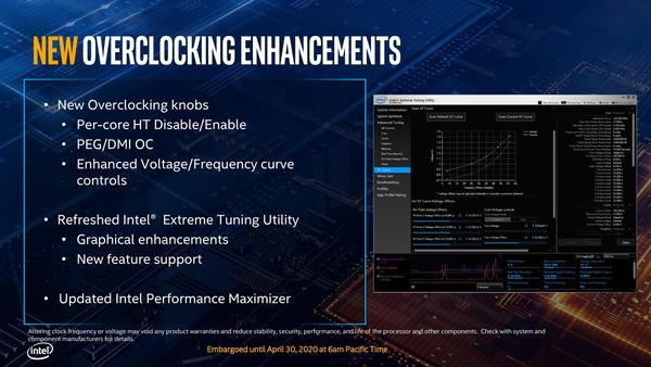 Intel 10th-Gen Comet Lake-S_overclocking
