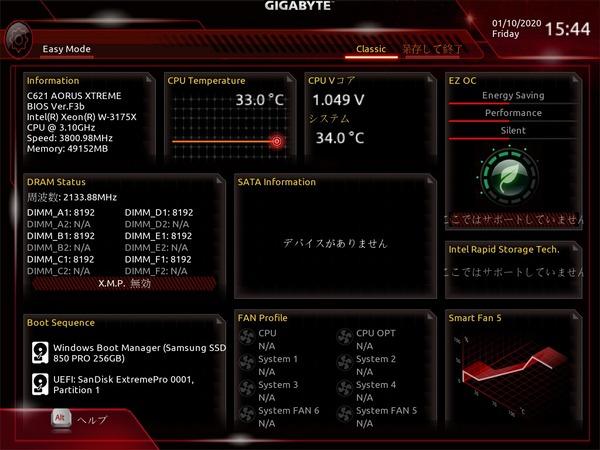 GIGABYTE C621 AORUS XTREME_BIOS_3