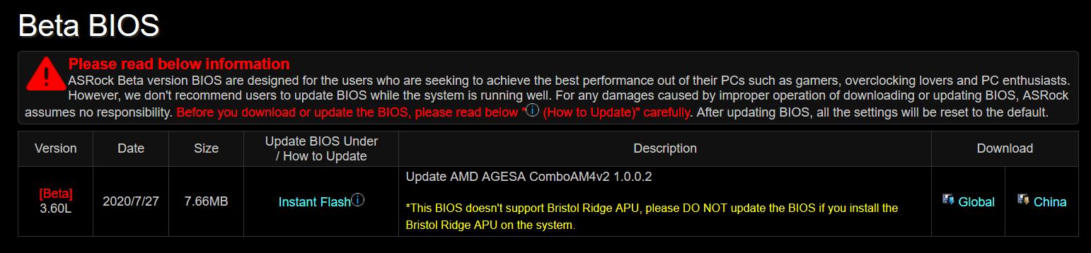 AMD Ryzen APU 4000 Renior_BIOS_A300