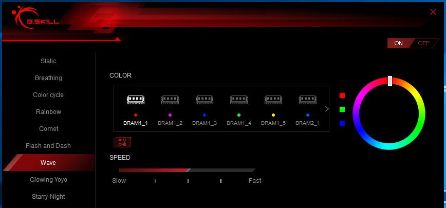 Trident Z RGB Control_wave