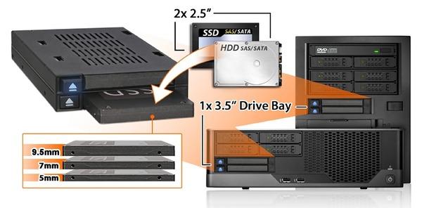 ICY DOCK MB522SP-B_Storage-size