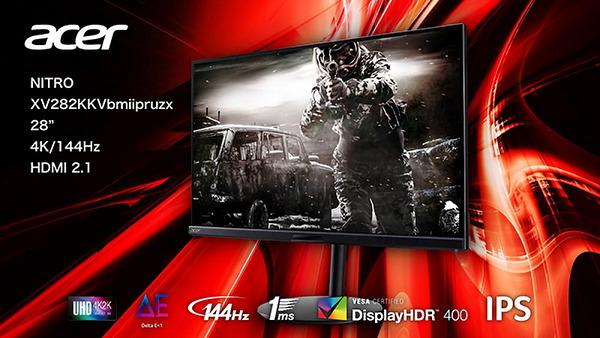 Acer Nitro XV282K KV_top