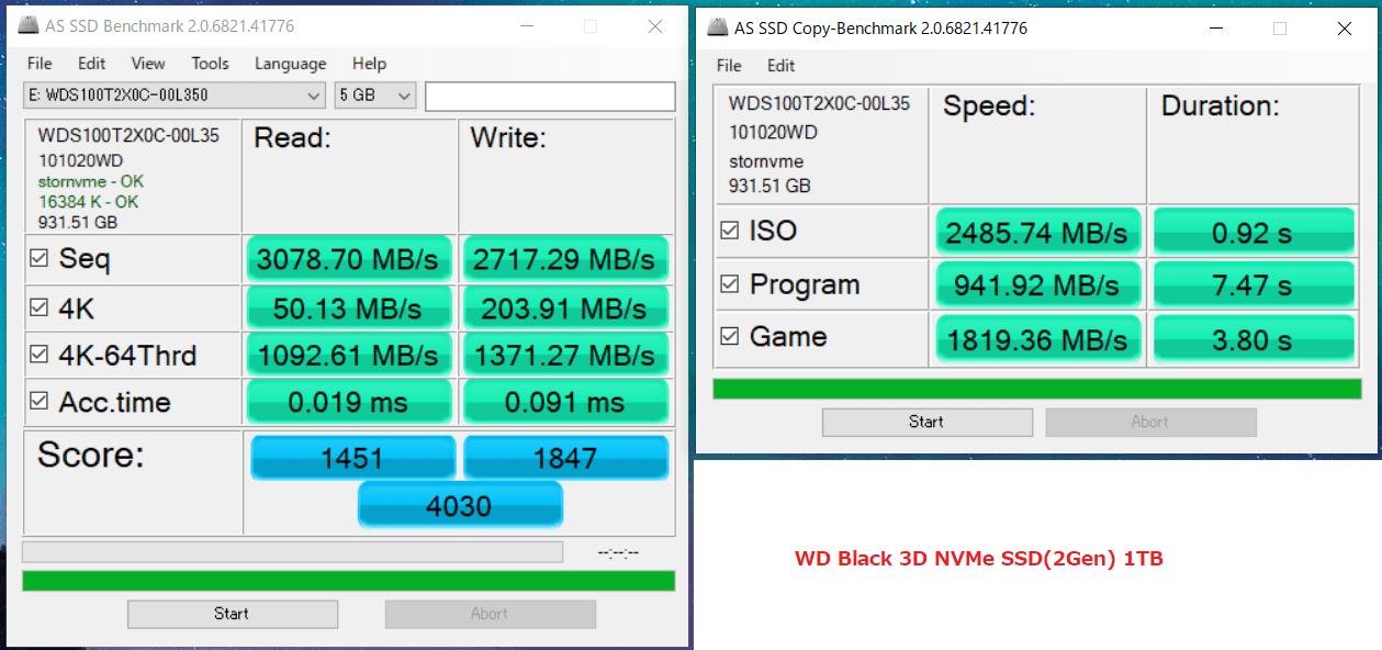 WD Black 3D NVMe SSD 1TB_AS