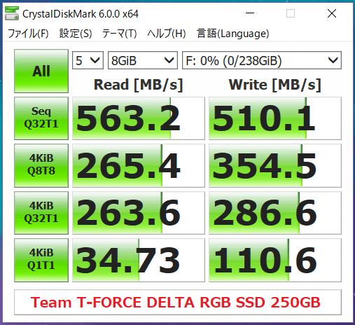 Team T-FORCE DELTA RGB SSD 250GB_CDM