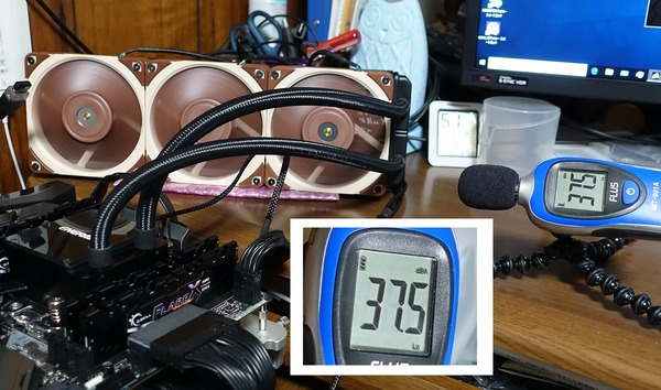Noctua NF-A12x25 PWM and watercool review_01799