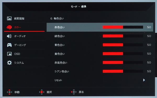 Acer Nitro XV282K KV_OSD_Color-Settings (2)