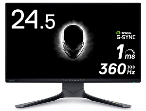 Alienware 25 AW2521H (FHD/IPS/360Hz/HDR/G-Sync)